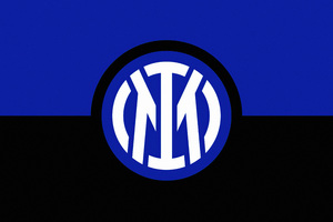 Inter Milan Logo Minimal 8k