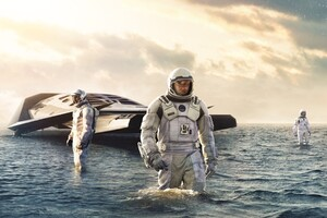 Interstellar Movie Wide Wallpaper