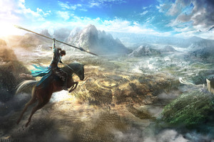 Into The Battle Dynasty Warriors 9 Wallpaper