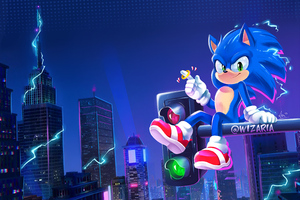 Into The Sonic Verse 4k Wallpaper