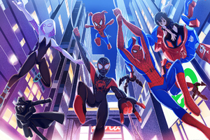 Into The Spiderverse Wallpaper