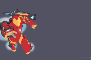 Invincible Iron Man Mk 51 Vector