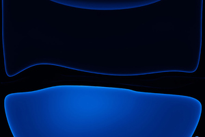Ios 13 Dark Blue Wallpaper