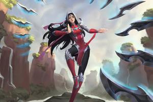 Irelia League Of Legends Fan Art 4k Wallpaper