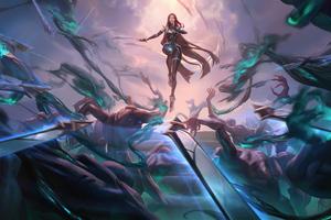Irelia Legends Of Runeterra Wallpaper