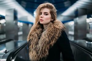 Irina Popova Fur Coat