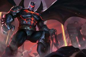 Iron Bat Man Suit Wallpaper