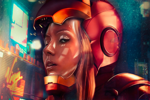 Iron Girl Artwork