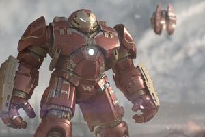 Iron Hulkbuster 4k