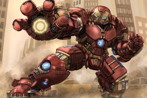Iron Hulkbuster Art