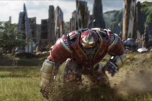 Iron Hulkbuster In Avengers Infinity War 2018