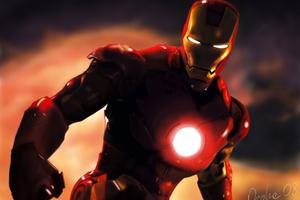 Iron Man 2 Digital Art