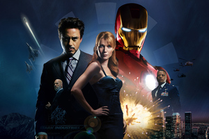 Iron Man 2008 Wallpaper