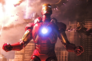 Iron Man 2018 5k Artwork
