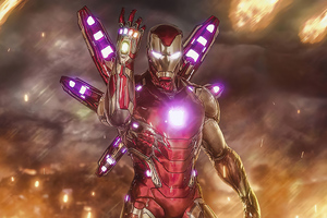Iron Man 2020 4k Art