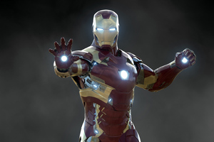 Iron Man 2020 Art 4k