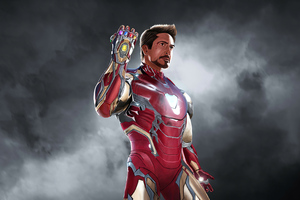 Iron Man 2020 Art Wallpaper