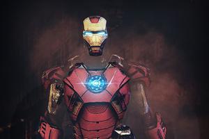 Iron Man 3d Artwork