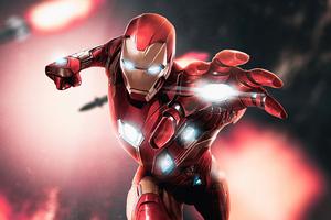 Iron Man 4k 2020 Art Wallpaper