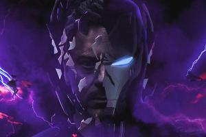 Iron Man 4k Avengers End Game Wallpaper