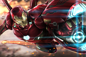 Iron Man 4k Cannon