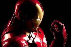 Iron Man 4k CGI