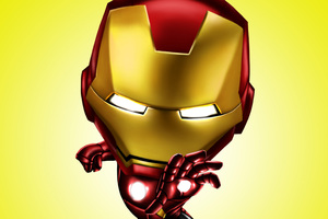 Iron Man 4k Digital Artwork