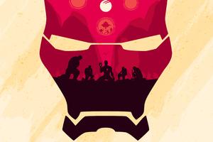 Iron Man 4k Mask Wallpaper