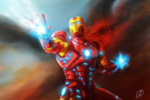 Iron Man 4k New Art