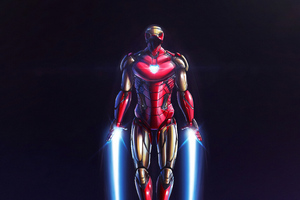 Iron Man 4k New Flying Wallpaper
