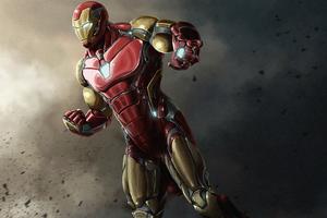 Iron Man 4kartwork Wallpaper