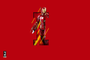Iron Man 5k Art Wallpaper