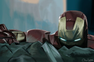 Iron Man 5K New Art