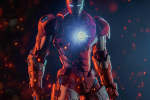 Iron Man 5k New Arts