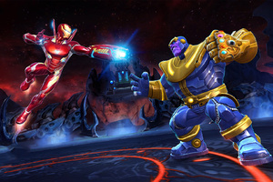 Iron Man And Thanos Marvel Contest Of Champions