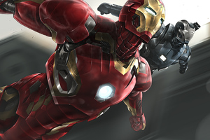 Iron Man And War Machine 4k 2020