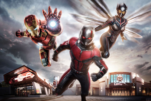 Iron Man Ant Man Wasp 4k Wallpaper