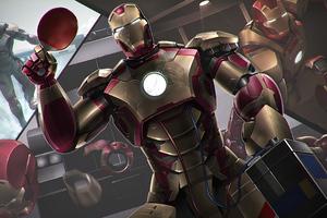 Iron Man Arc Reactor 4k Wallpaper