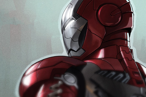 Iron Man Armor 45 Wallpaper