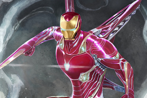 Iron Man Armor 4k