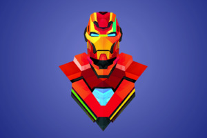 Iron Man Art Abstract