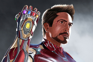 Iron Man Art4k 2020