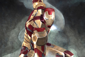 Iron Man Arts 4k Wallpaper