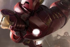 Iron Man Avengers 4k