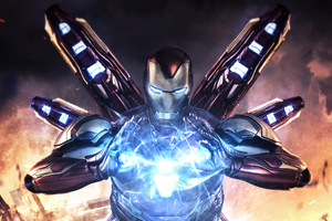 Iron Man Avengers Endgame 4k
