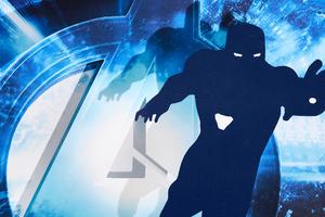Iron Man Avengers Endgame Minimal