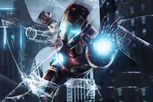 Iron Man Avengers Endgame Poster