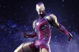 Iron Man Avengers Endgame Suit 4k