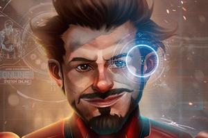 Iron Man Avengers Fan Art Wallpaper