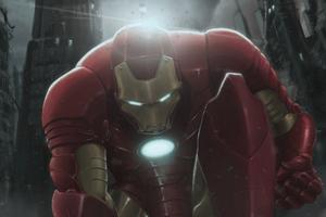 Iron Man Avengers I Am Back 4k Wallpaper